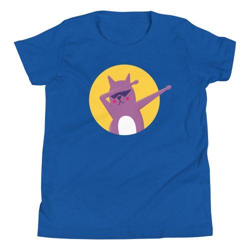Cat Dab Kids T-Shirt 8