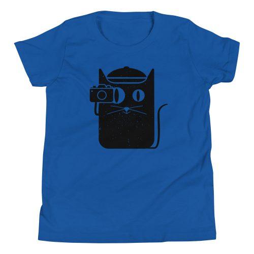 Camera Cat Kids T-Shirt 4