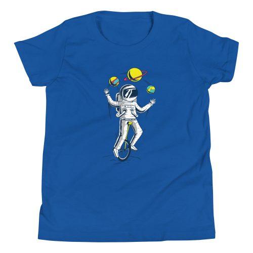 Astronaught Juggler Kids T-Shirt 8