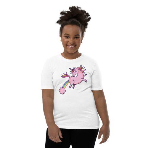 Unicorn Fart Kids T-Shirt 6