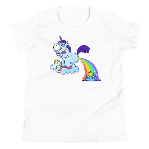 Unicorn Poop Kids T-Shirt 3
