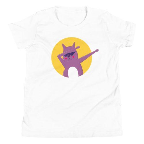Cat Dab Kids T-Shirt 3