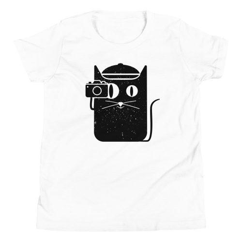 Camera Cat Kids T-Shirt 3