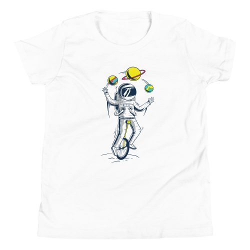 Astronaught Juggler Kids T-Shirt 3